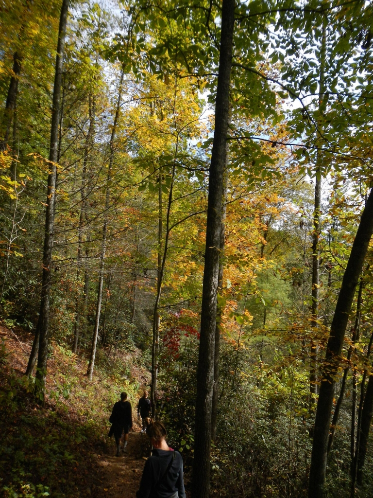 backpacking in fall