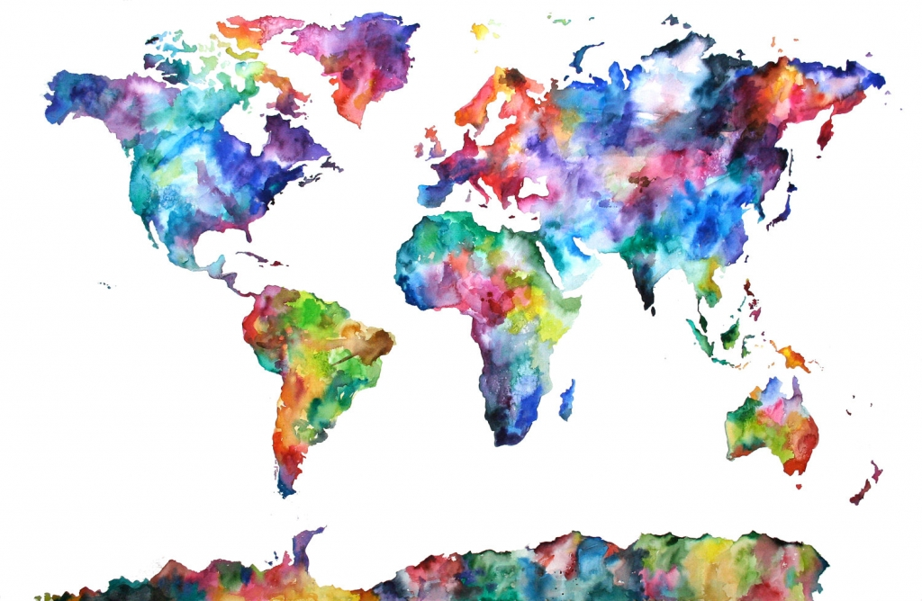 watercolor map example