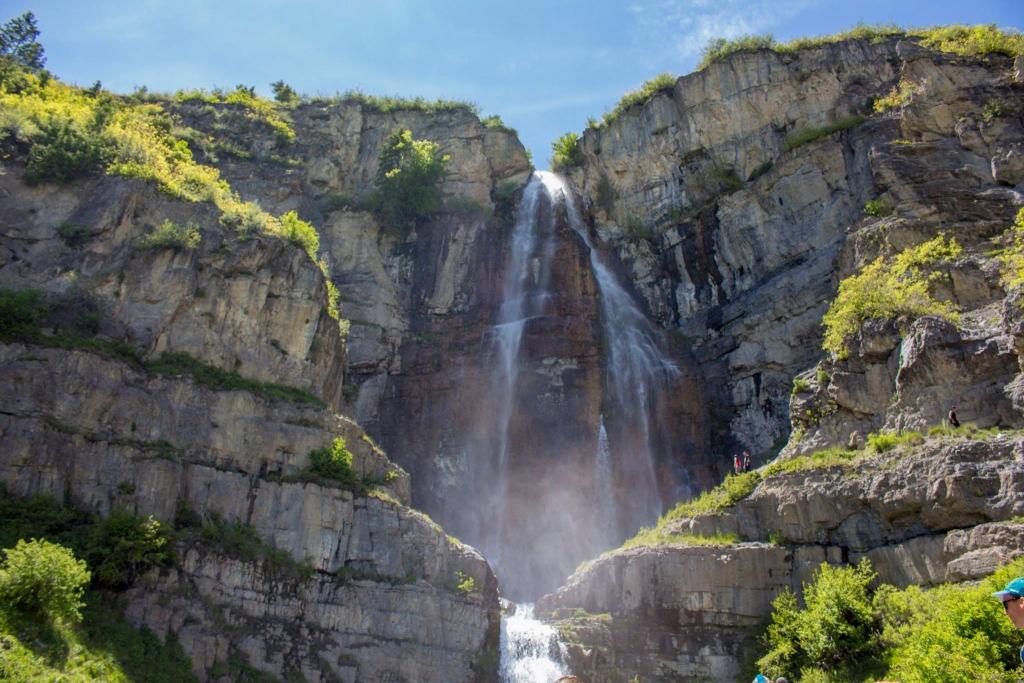 Stewart Falls from Bottom