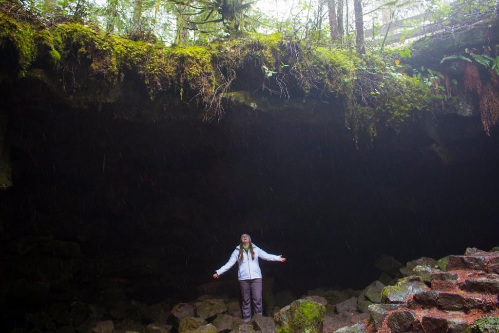 Ape Caves Underground