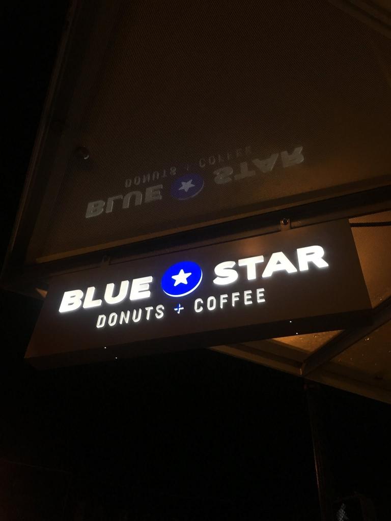 Blue Star Sign