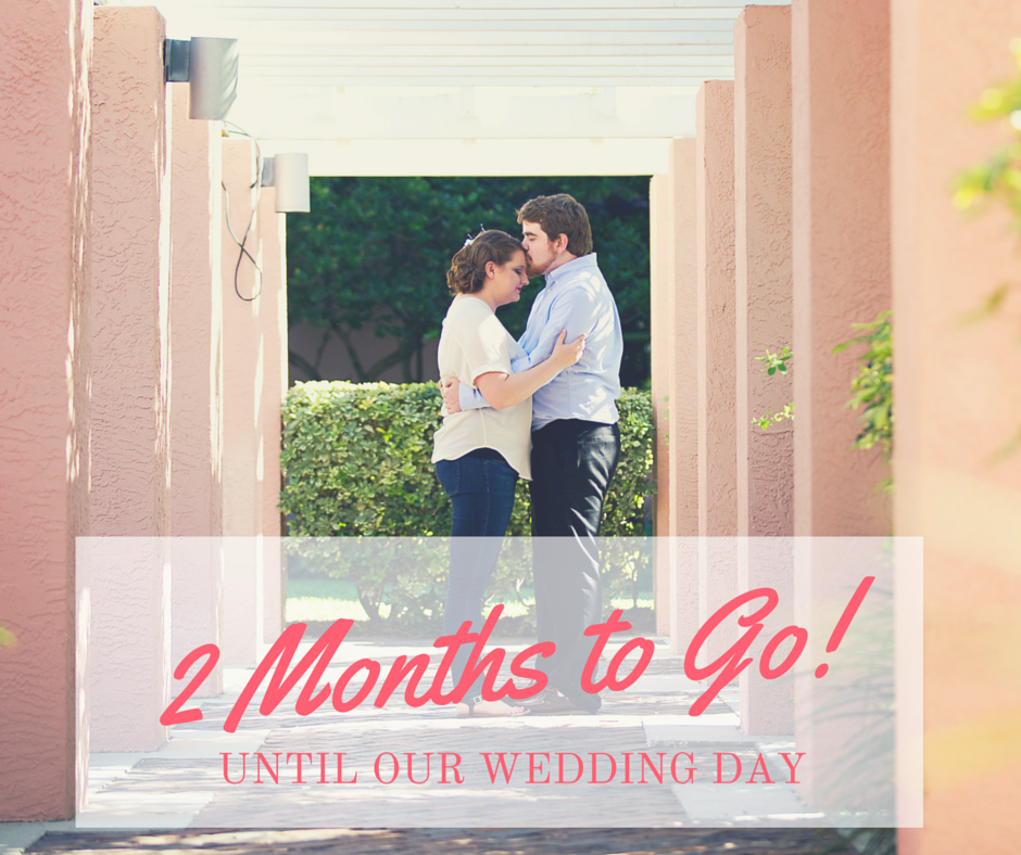 Wedding Planning 2 Month Countdown Checklist