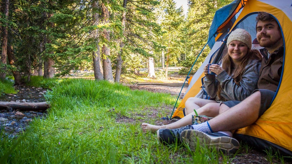 Camping at Great Basin