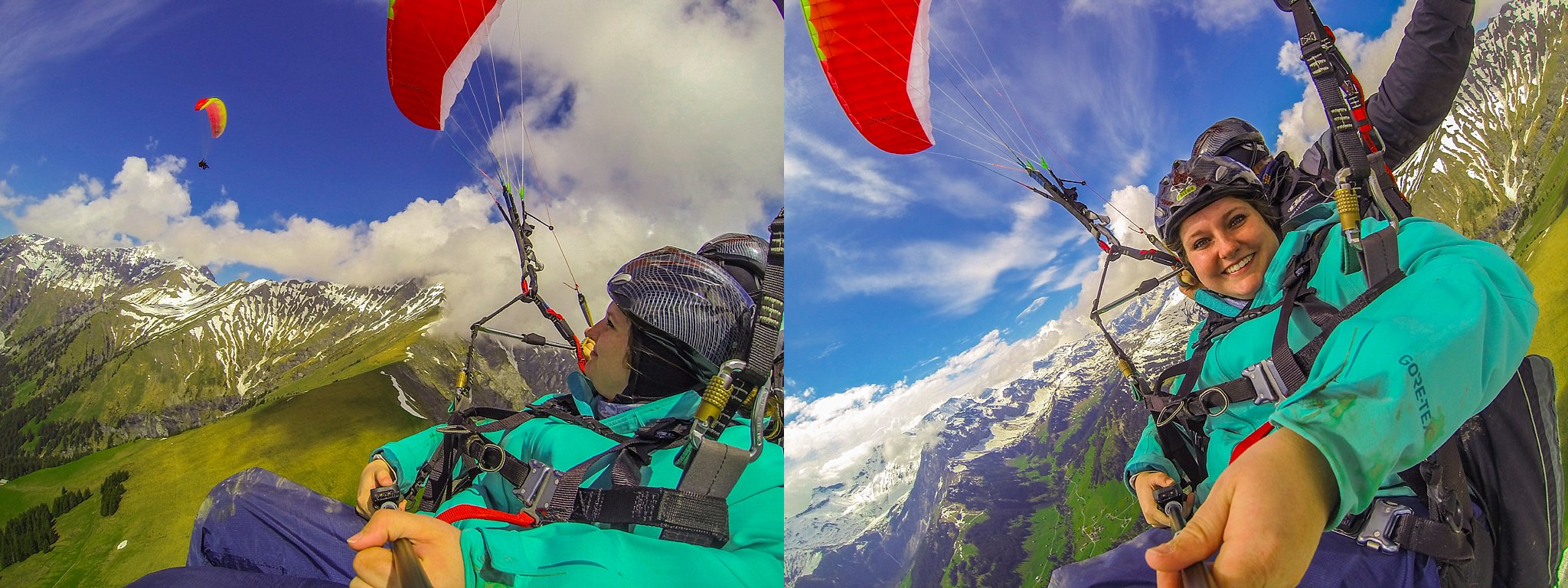 adelboden,adventure,adventure tourism,anniversary,anniversary trip,europe,european vacation,honeymoon,paragliding,switzerland,thrillseeker,