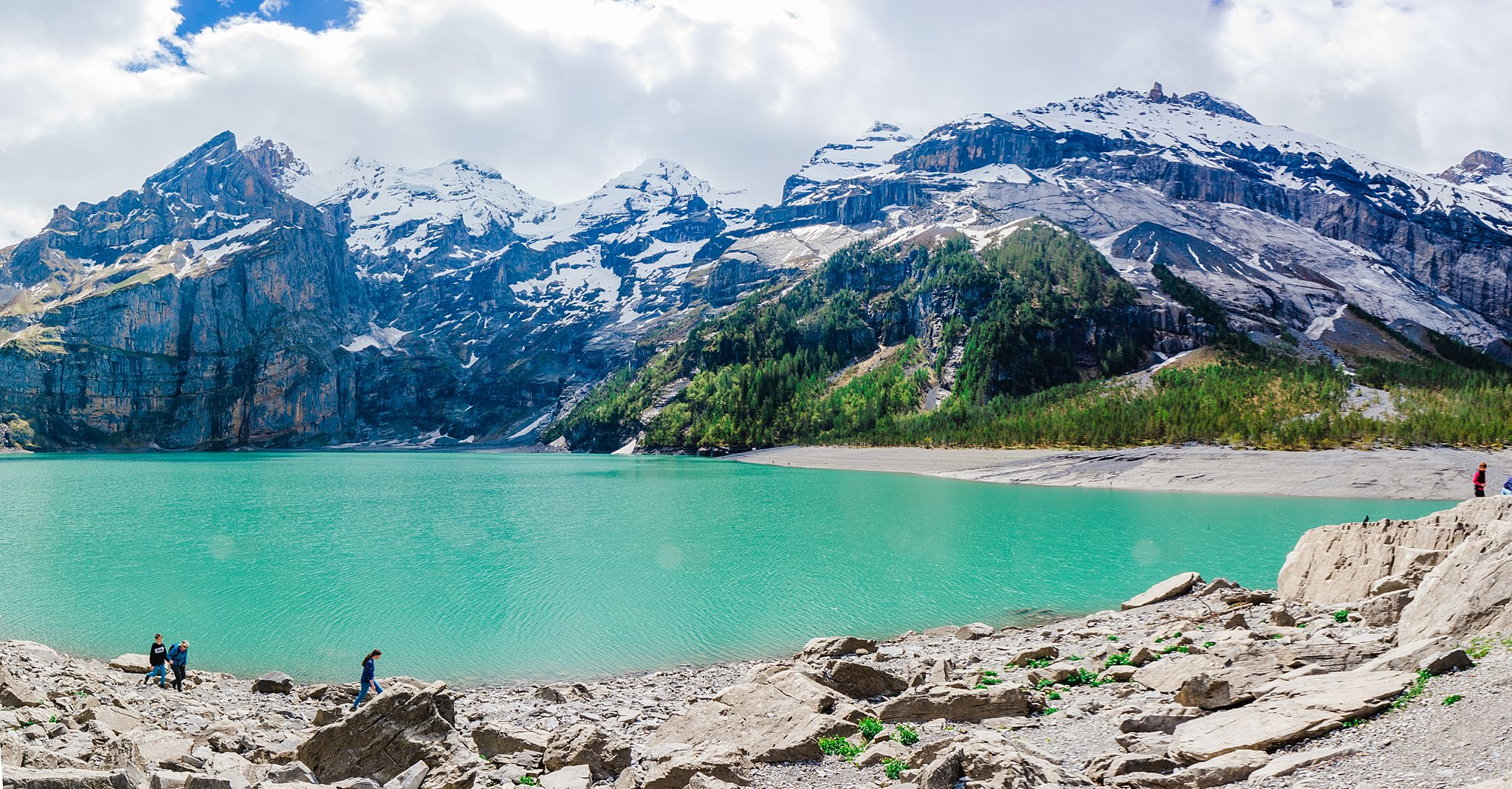 Oeschinensee Lake,adventure,anniversary trip,bern,europe,european vacation,hiking,switzerland,
