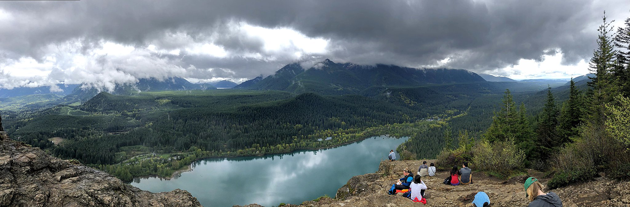 rattlesnake ledge, seattle hike, north bend, washington