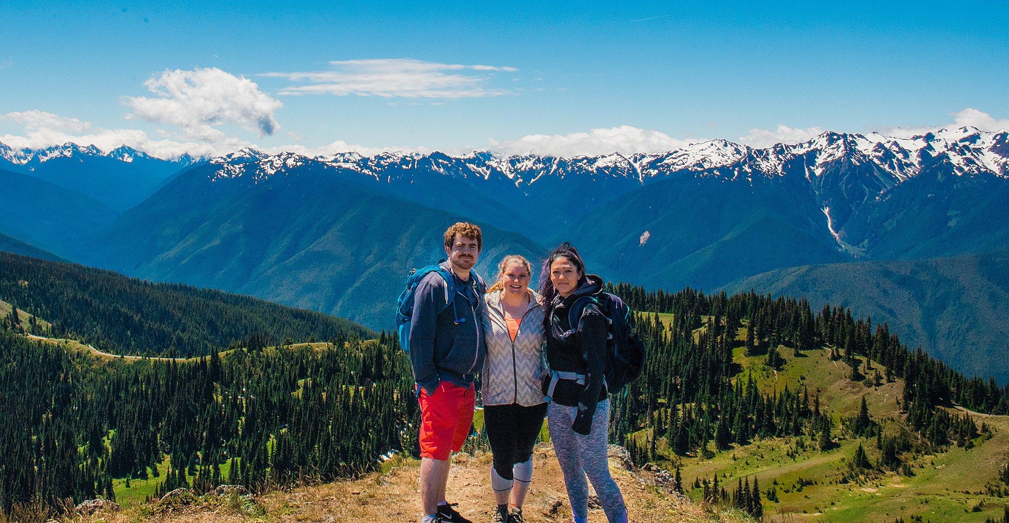 olympic national park, hurricane ridge, hurricane hill hike, hiking, 52 hike challenge, trail, washington