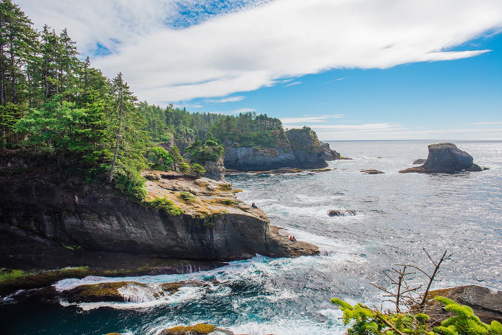 cape flattery, neah bay, olympic national park, olympic peninsula, tatoosh island, northwest, pacific northwest, hiking, 52 hike challenge