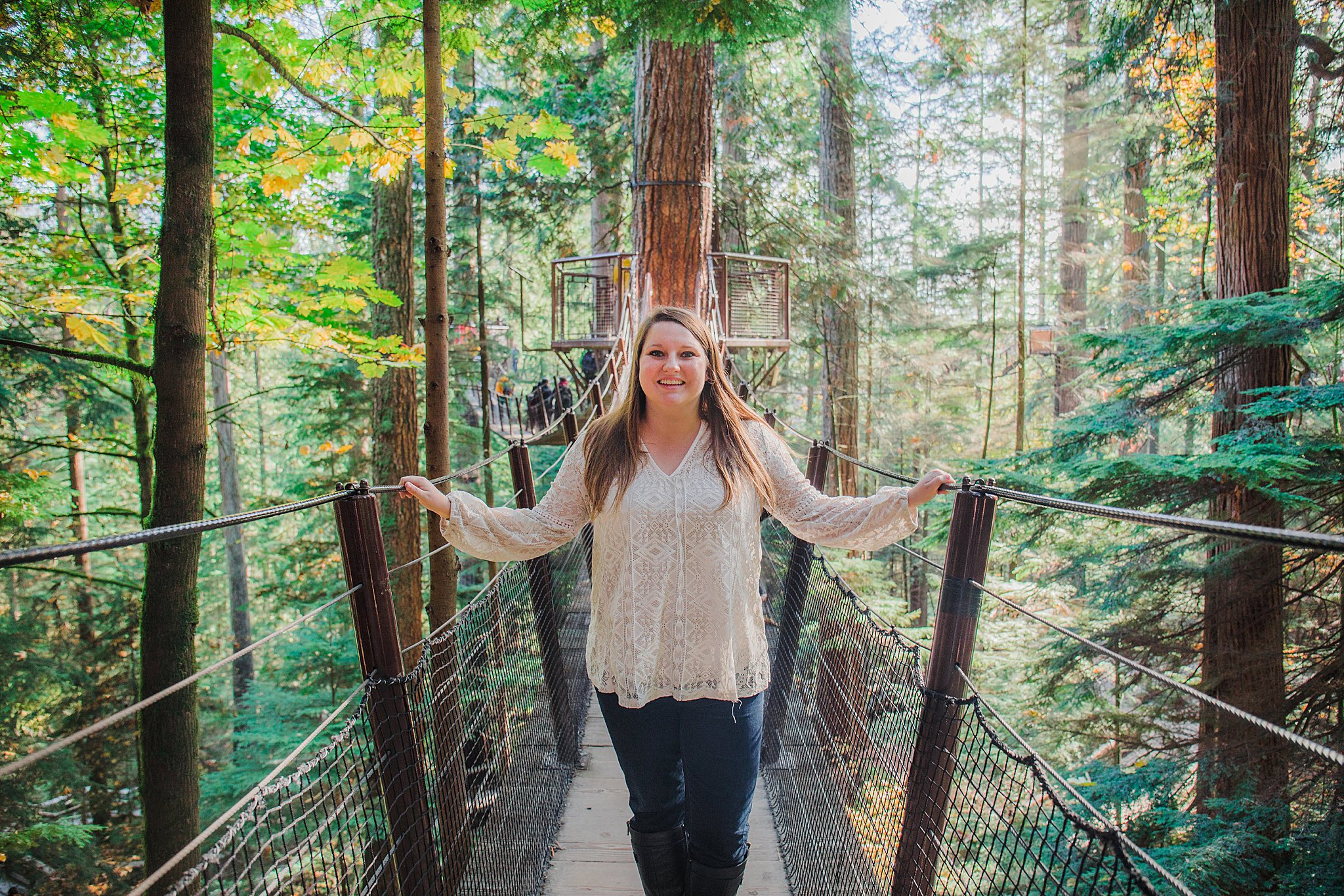 capilano suspension bridge, vancouver, things to do in vancouver, suspension bridge, cliffwalk, treetops adventure, visit british columbia, canada